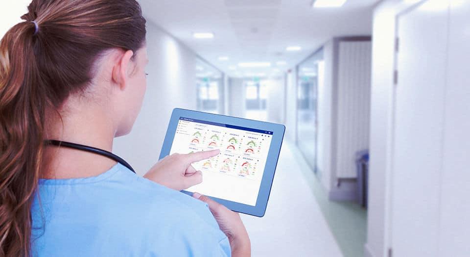 utilisation de la surveillance centralisé en hôpital