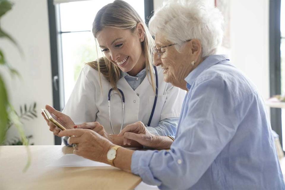Infirmier au domicile - patient