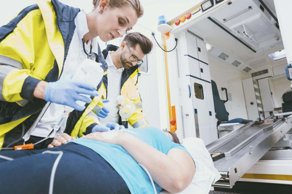 Urgence préhospitalière - prise en charge